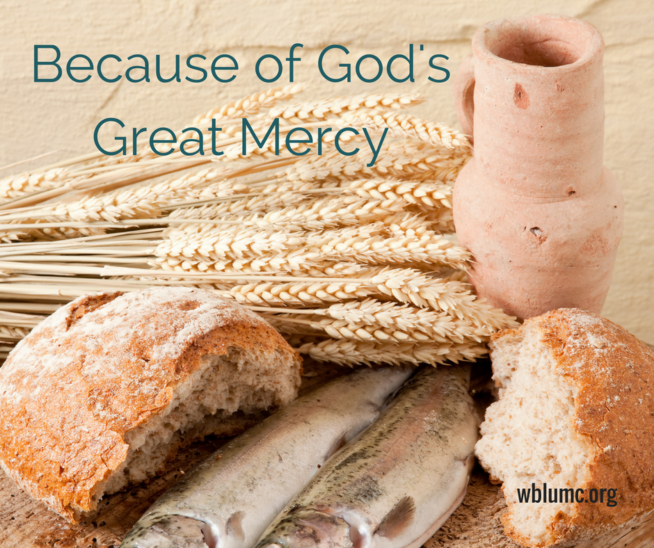 Because of God's Great Mercy: Blessings for a New Life